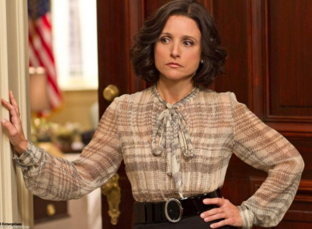 Julia Louis-Drefus stars as Selina Meyer in Armando Iannucci's new sitcom 'Veep'