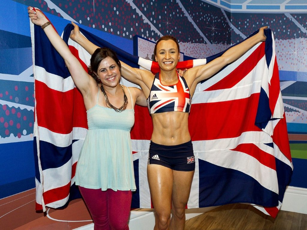 Jessica Ennis wins her place at Madame Tussauds. The athlete was one of the multicultural symbols of London's Olympic Games.