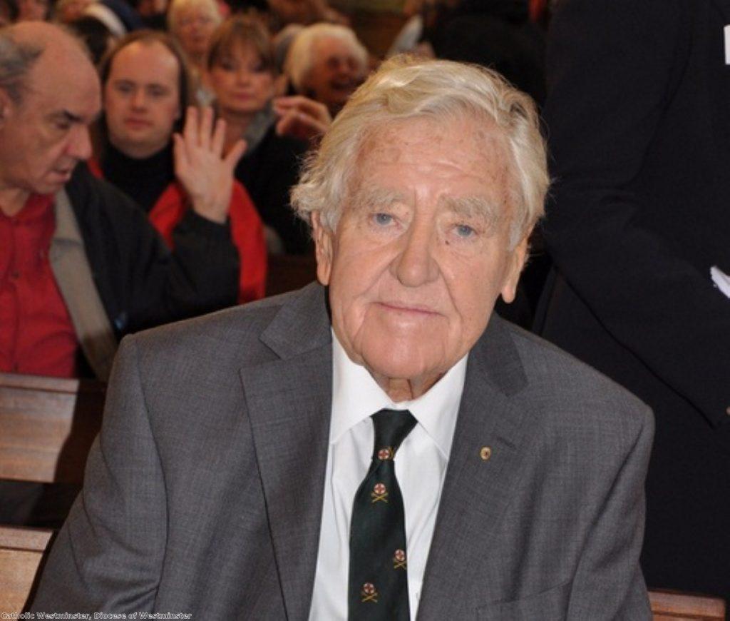 Alf Morris has died aged 84