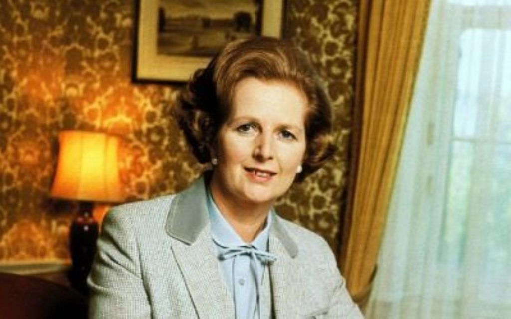 Harsh, unyielding politics a direct result of the Iron Lady?