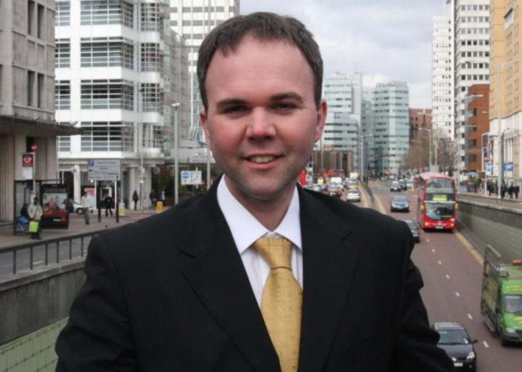 Gavin Barwell is the Conservative MP for Croydon Central