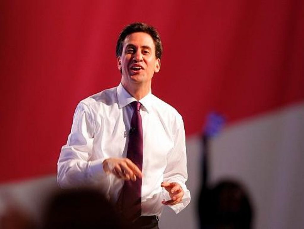Ed Miliband is soaking up every moment of his newfound adultation