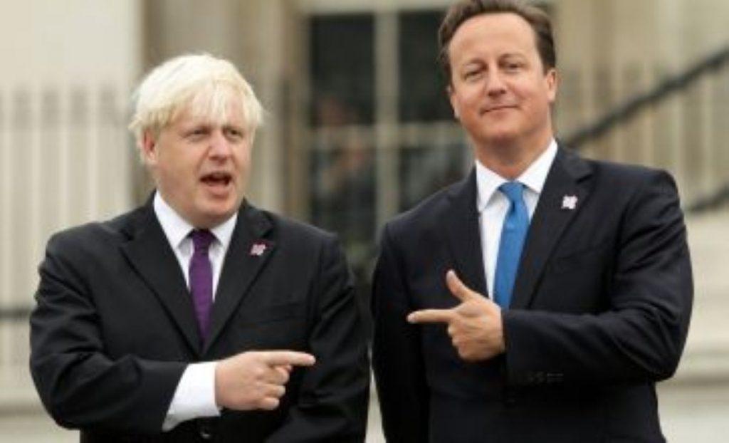Boris Johnson and David Cameron: A battle of the egos