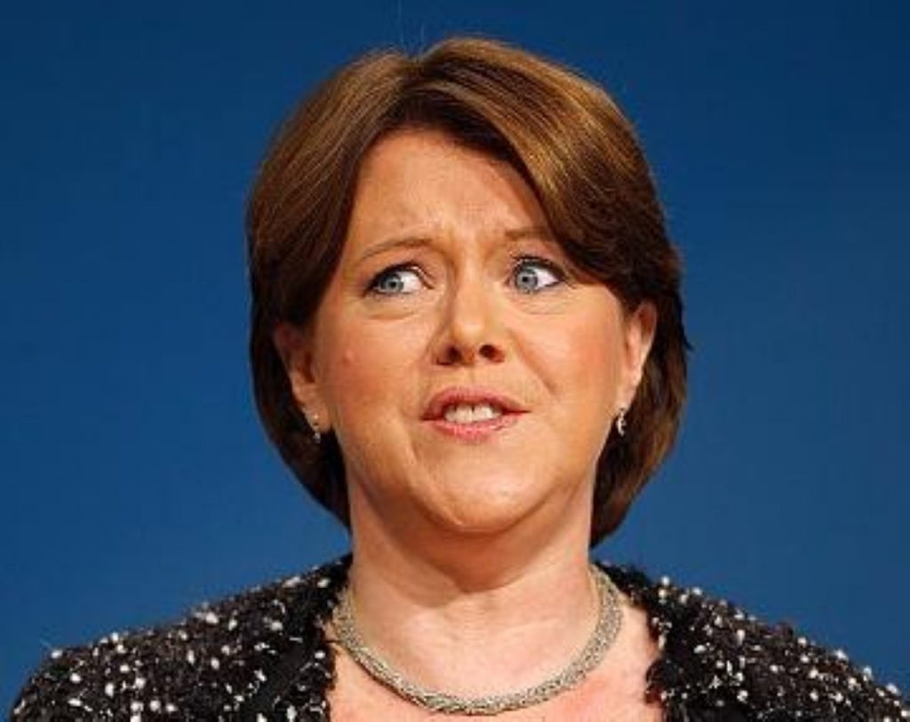 Maria Miller criticised feminists for raising concerns over the trans equality report