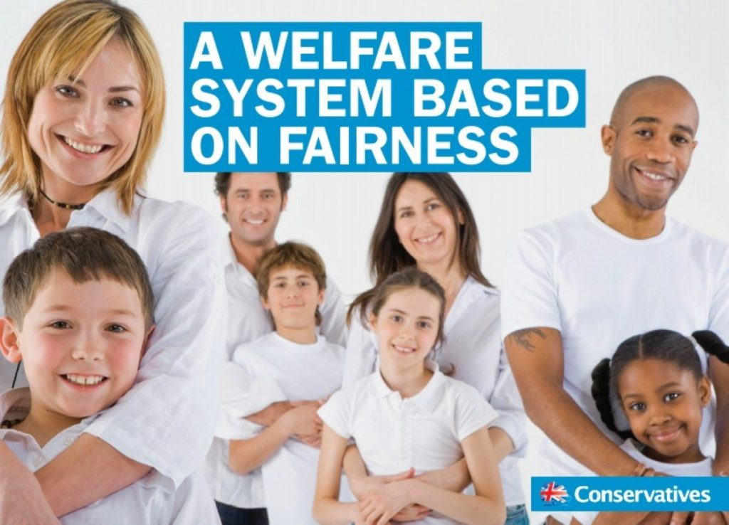 The Tory party's welfare campaign is a direct riposte to Labour's offensive in marginal seats