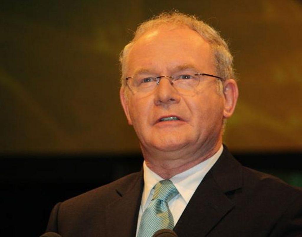 """Martin McGuinness resigns from Westminster as Sinn Fein ends """"double-jobbing"""""""