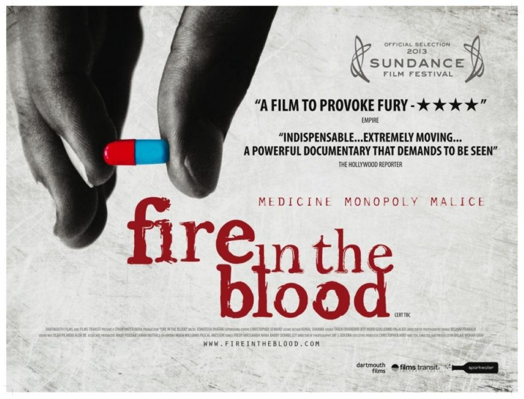 Fire in the Blood is released at select cinemas on Monday February 25th