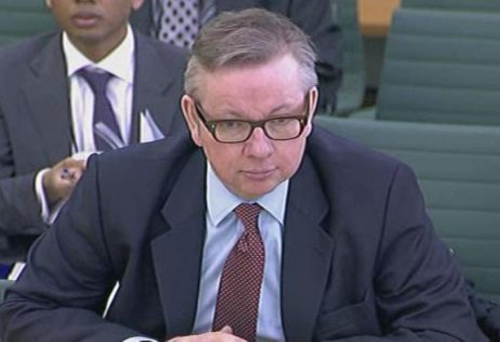 Michael Gove: Admits changes to human rights law will be minor