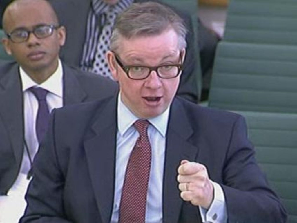 """Michael Gove determined to take on """"the blob"""" in education"""