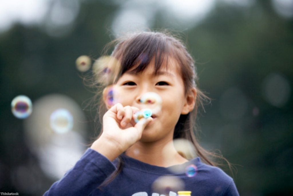 The ban on bubbles at children's parties: Another health and safety myth