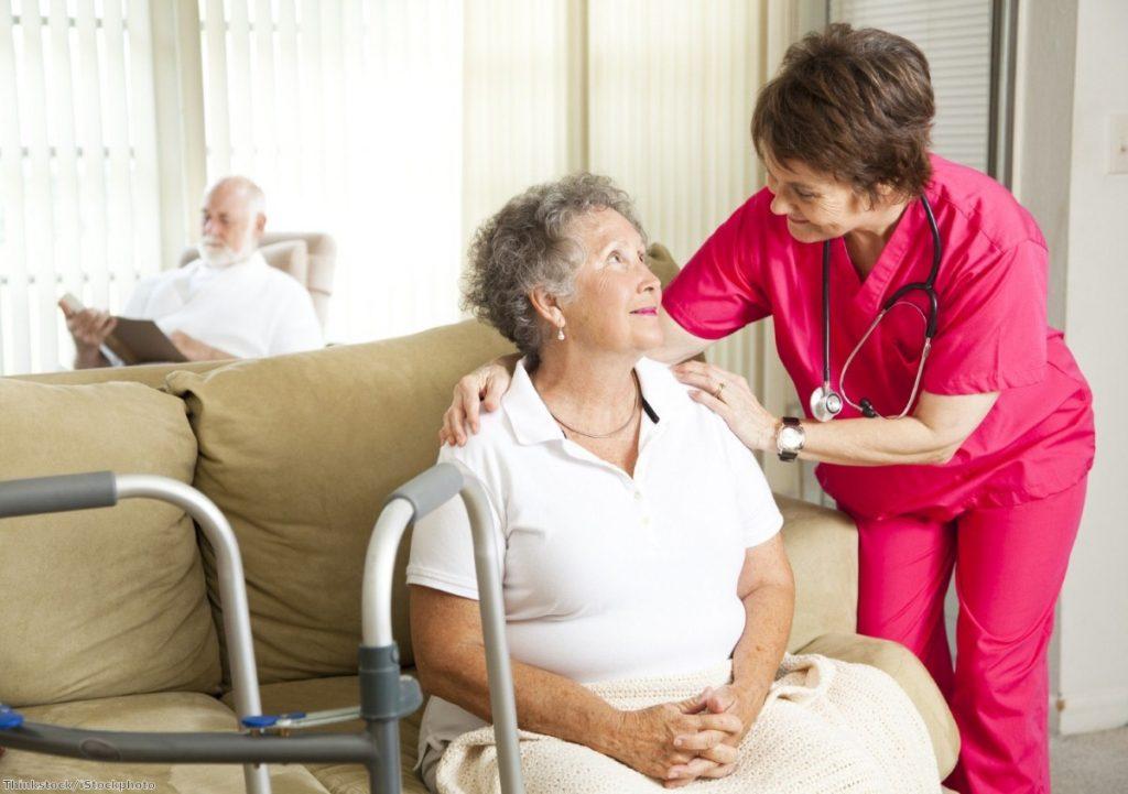 Hospital health care standards decline