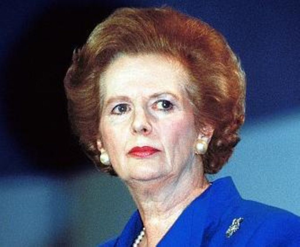 Westminster hold a debate on Thatcher's legacy today