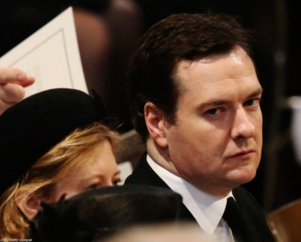 George Osborne faces what critics say is an overwhelming level of evidence his economic plan is failing