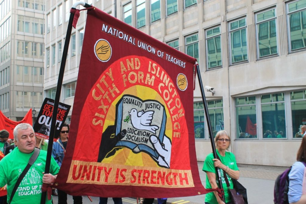 The strikes have been supported by rallies across the country