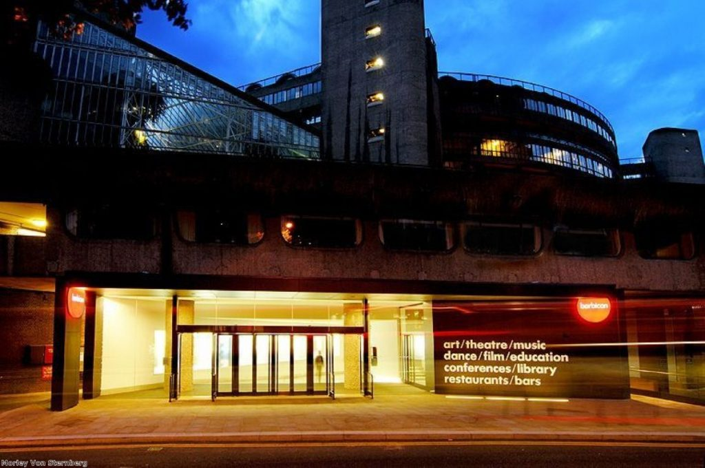 The Barbican: Forced to close anti-racist event Exhibit B