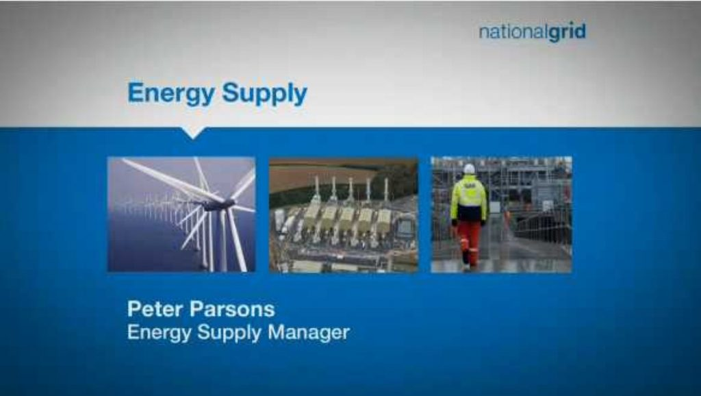 Energy supply manager Peter Parsons explains National Grid's future energy scenarios