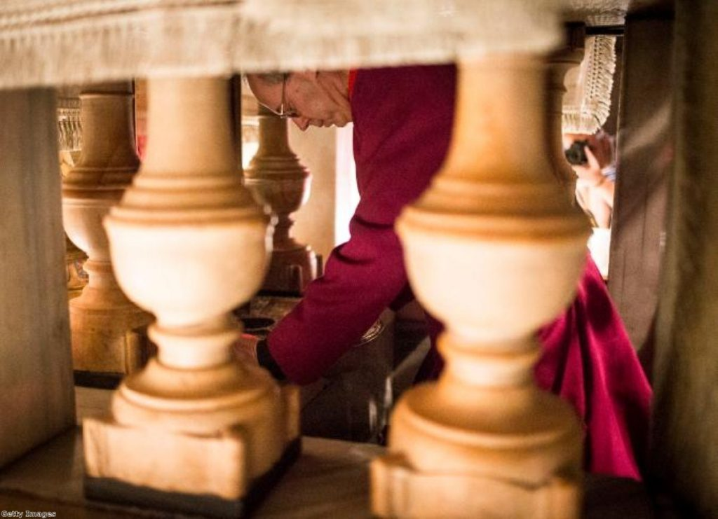 Time for a quick prayer: Justin Welby