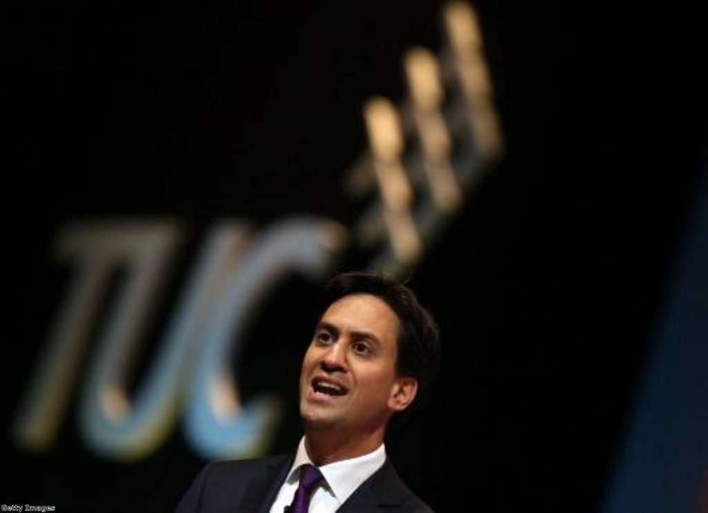 Miliband to reform Labour's link with unions