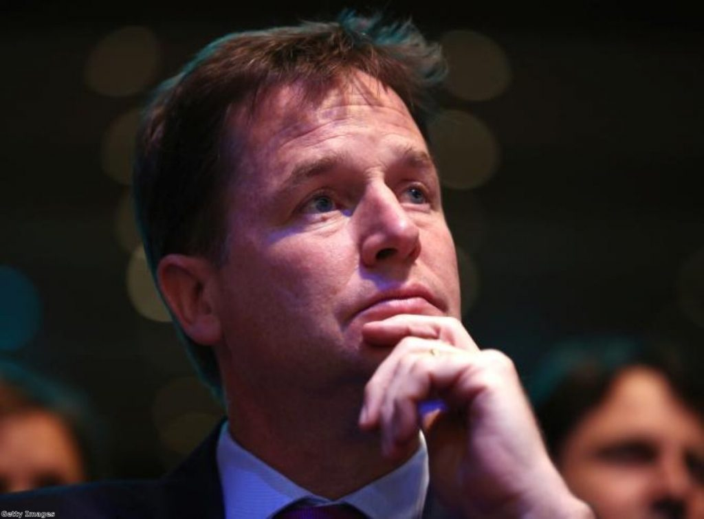Nick Clegg takes on Lib Dem party delegates in key conference debate