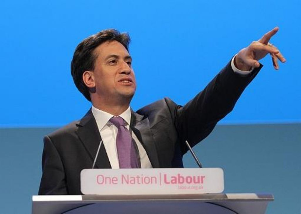 Ed Miliband: Stuck in the middle