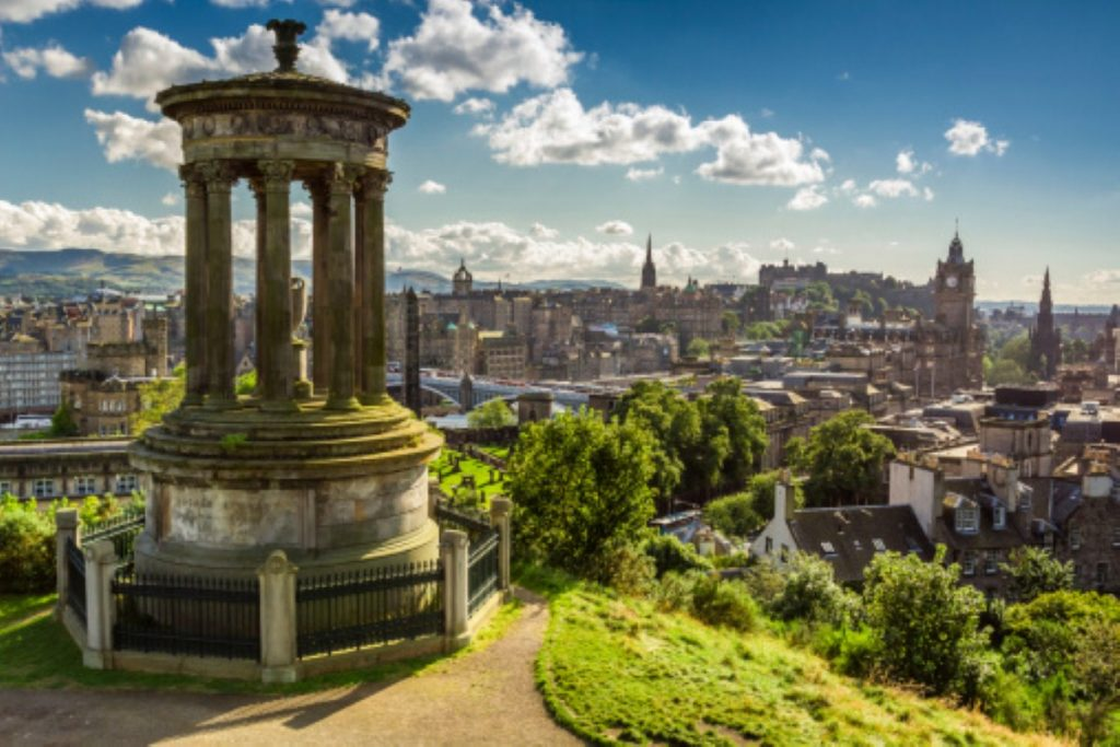 Edinburgh: The view from the city