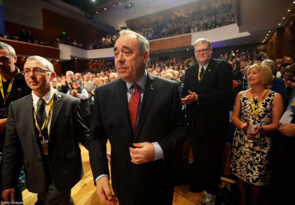 Salmond: Saved by the quality of his opponents