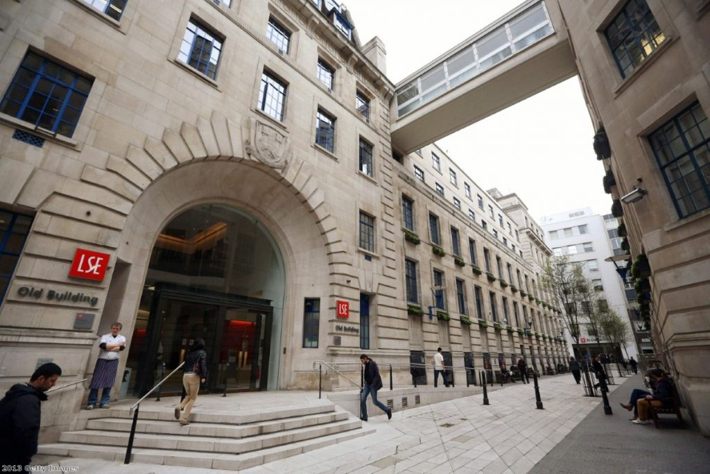 London School of Economics apologised for censoring students