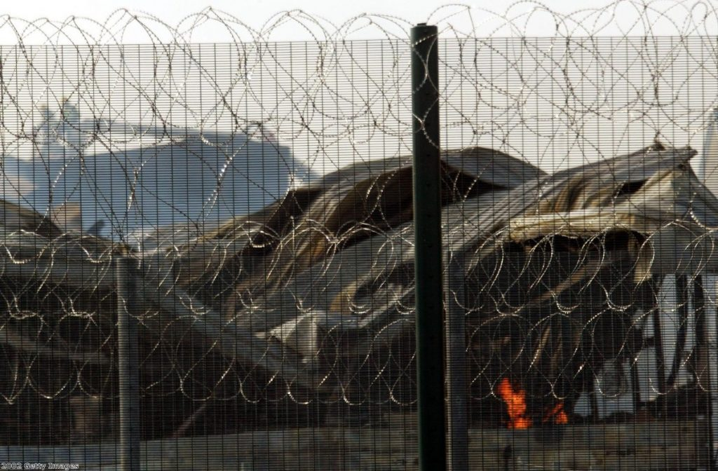 The controversial Yarl's Wood detention centre, burnt down by detainees in 2002