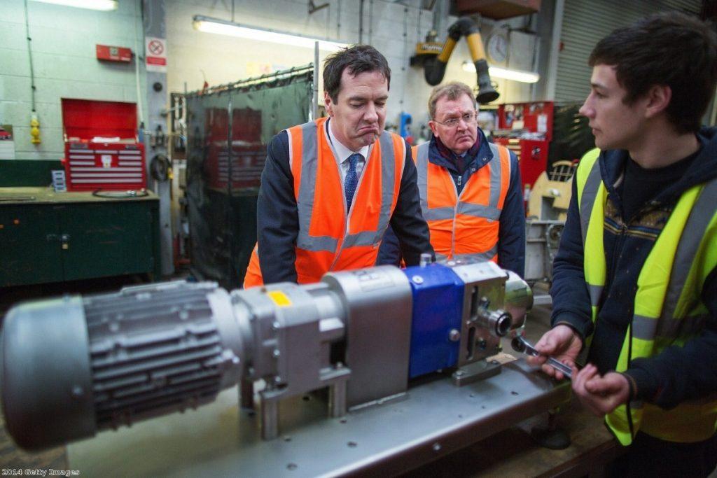 "George Osborne: ""Work always pays"""