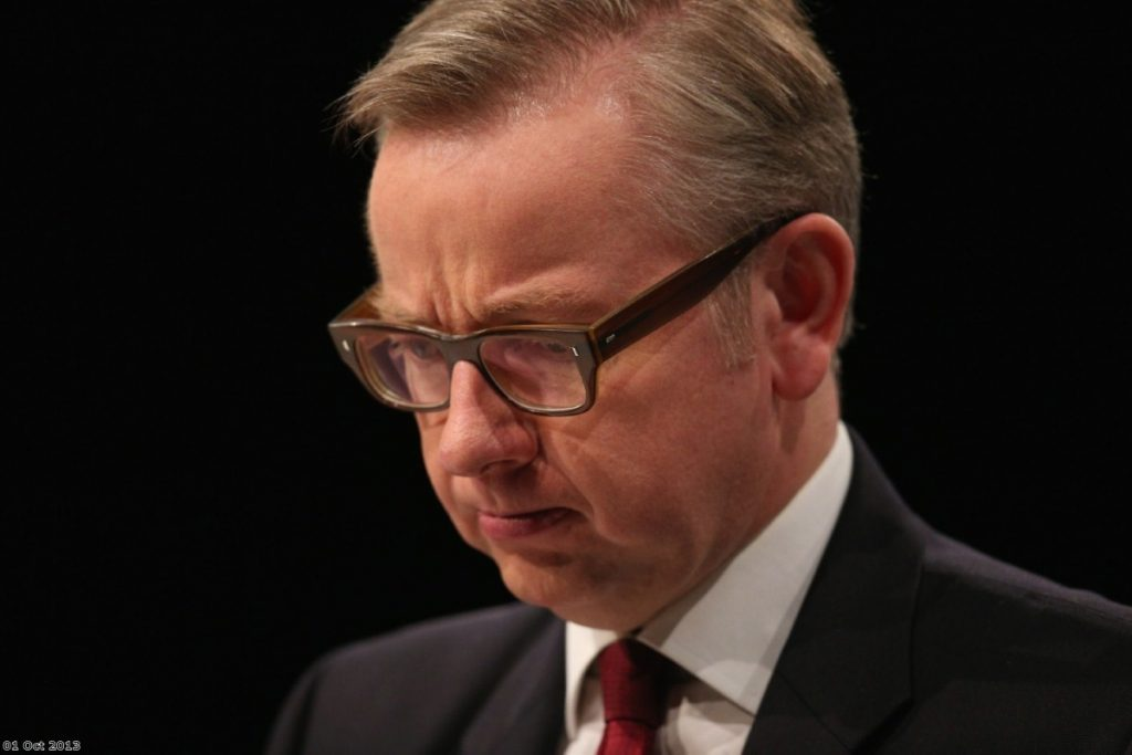 Victorious? Gove looks set to have faced down legal strike