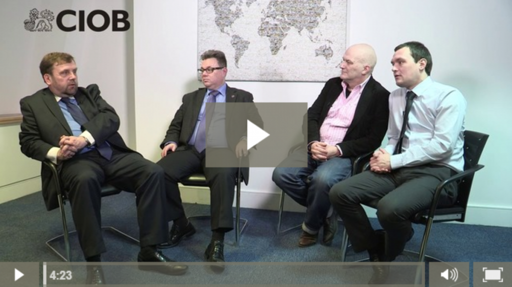 The CIOB's Public Affairs & Policy Manager Eddie Tuttle hosts a discussion on Building Information Modelling (BIM).