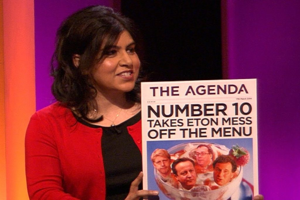 Photo Credit: ITV's The Agenda