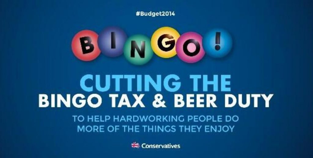 That was the tweet that was: Tories mocked for beer and bingo poster