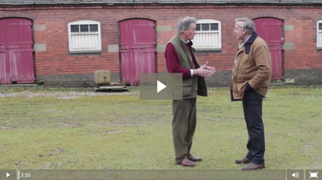The CLA talks to landowners in Staffordshire affected by HS2