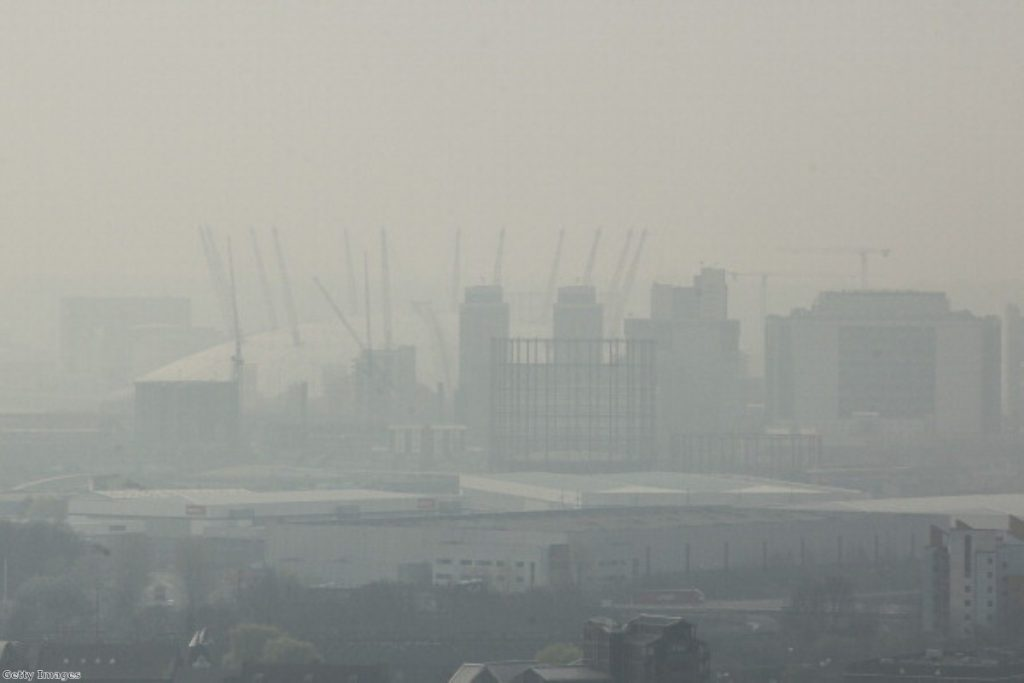 London smog: Air quality in London is 'perfectly fine' claims Boris Johnson