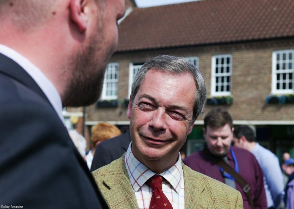 Farage says presence of ethnic minority candidates his 'Clause IV moment'