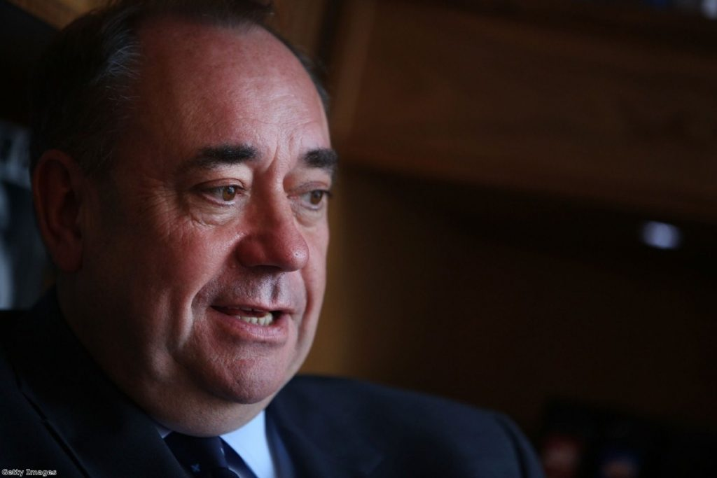 Alex Salmond talks to Politics.co.uk: 'England is very capable of self-government'