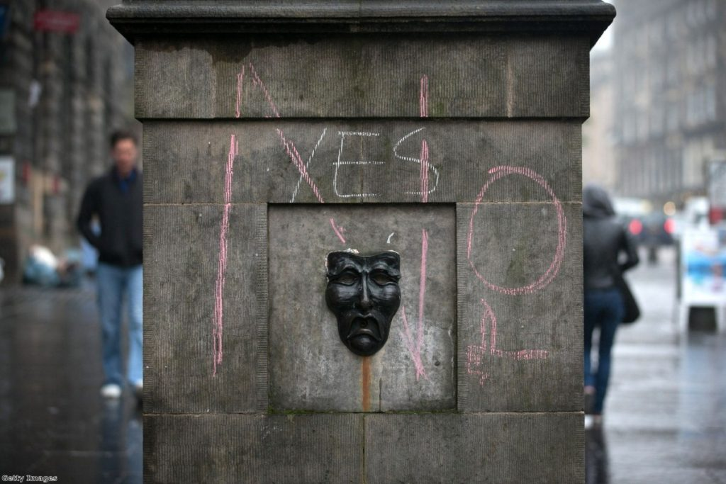 Scottish independence: revealing the truth about the state of British politics