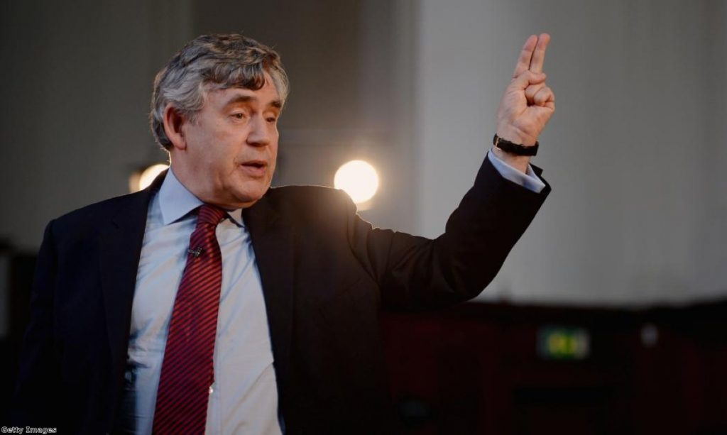 Gordon Brown anticipates the number of broken timetable promises...