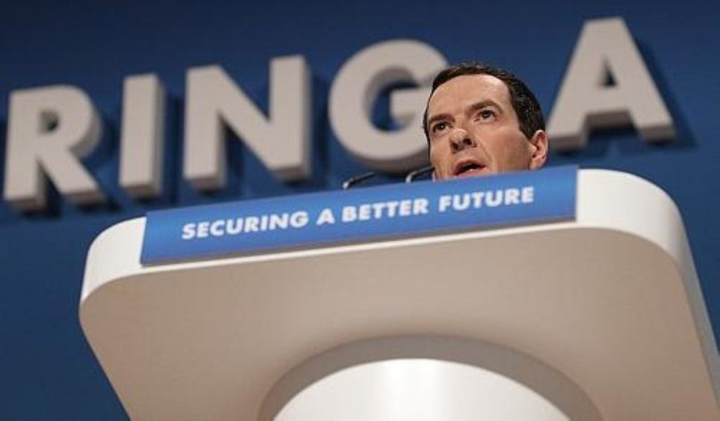 Caught? The chancellor is lashing out at accurate reporting of his own proposals