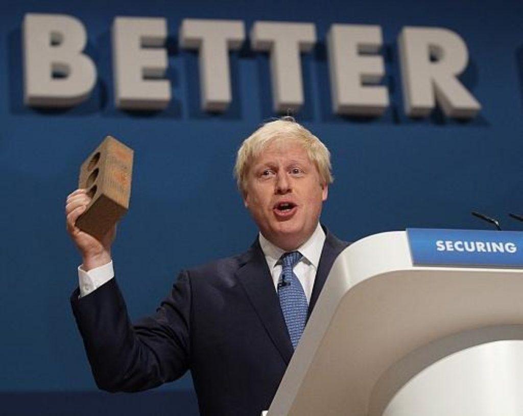 Boris Johnson and friend