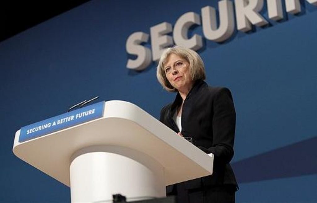 Even May struggled to defend her party's behaviour over the general election today