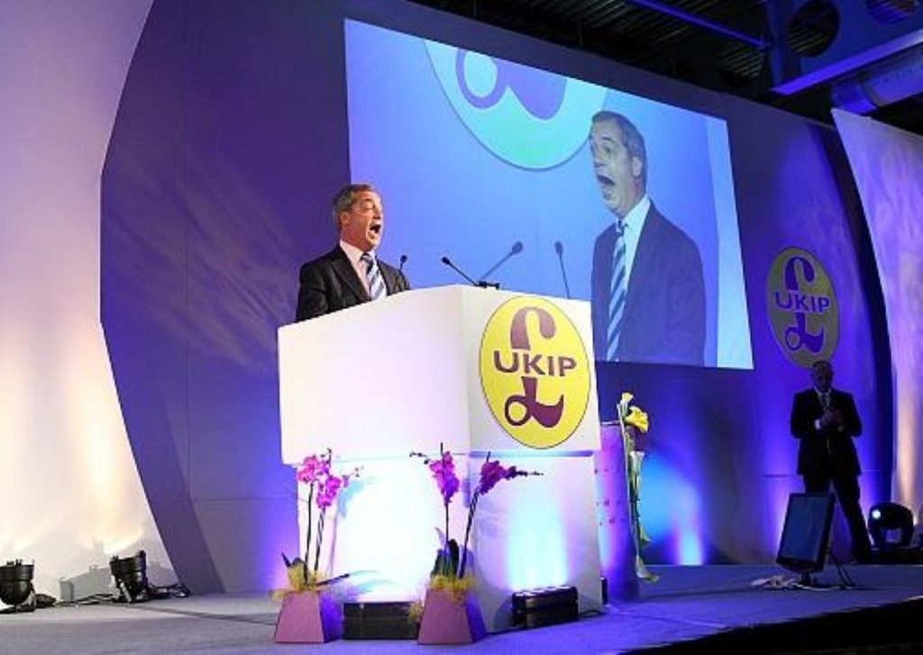It takes a lot to break through the Westminster system, but Nigel Farage is on the brink