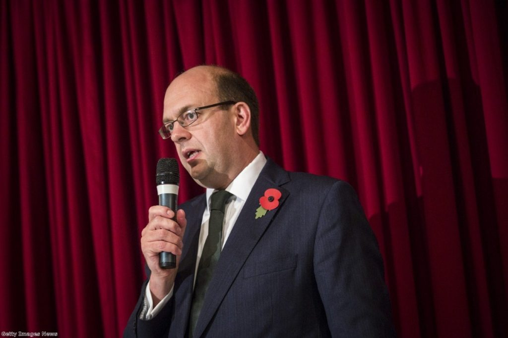 Reckless: The former Tory MP is on course to win as a kip candidate in Rochester