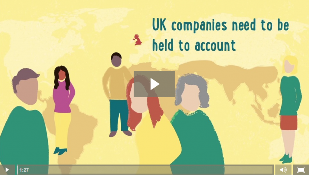 Traidcraft is calling for UK companies to be held to account