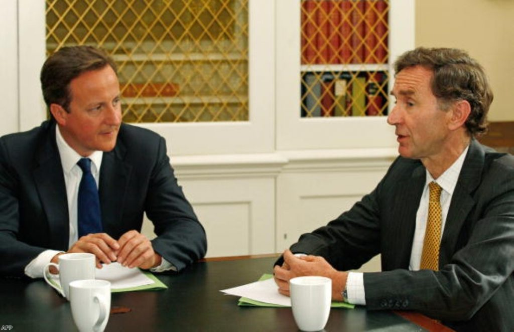 David Cameron appointed former HSBC chair Stephen Green as his trade minister