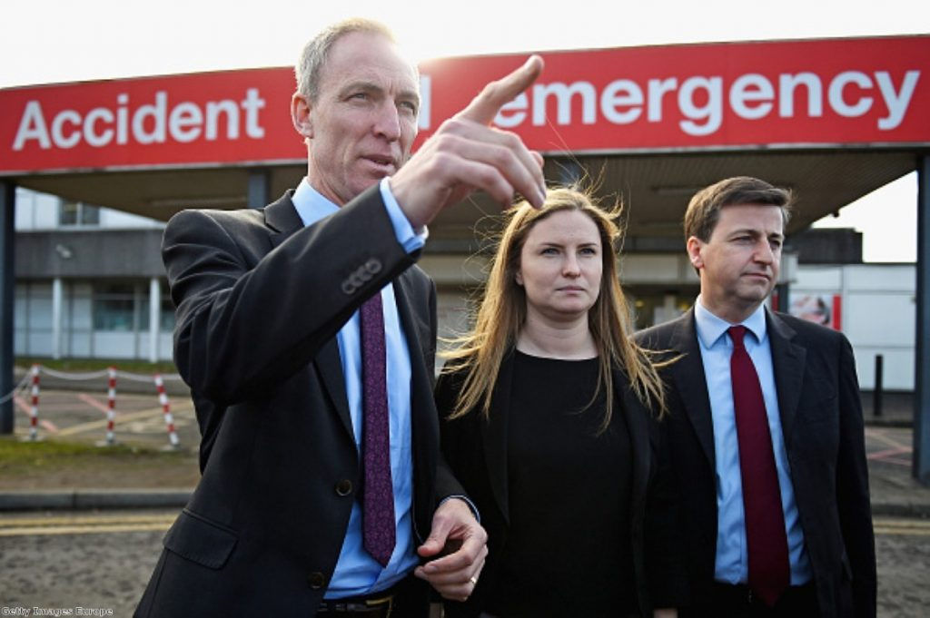 Emergency stations for Jim Murphy in Scotland.