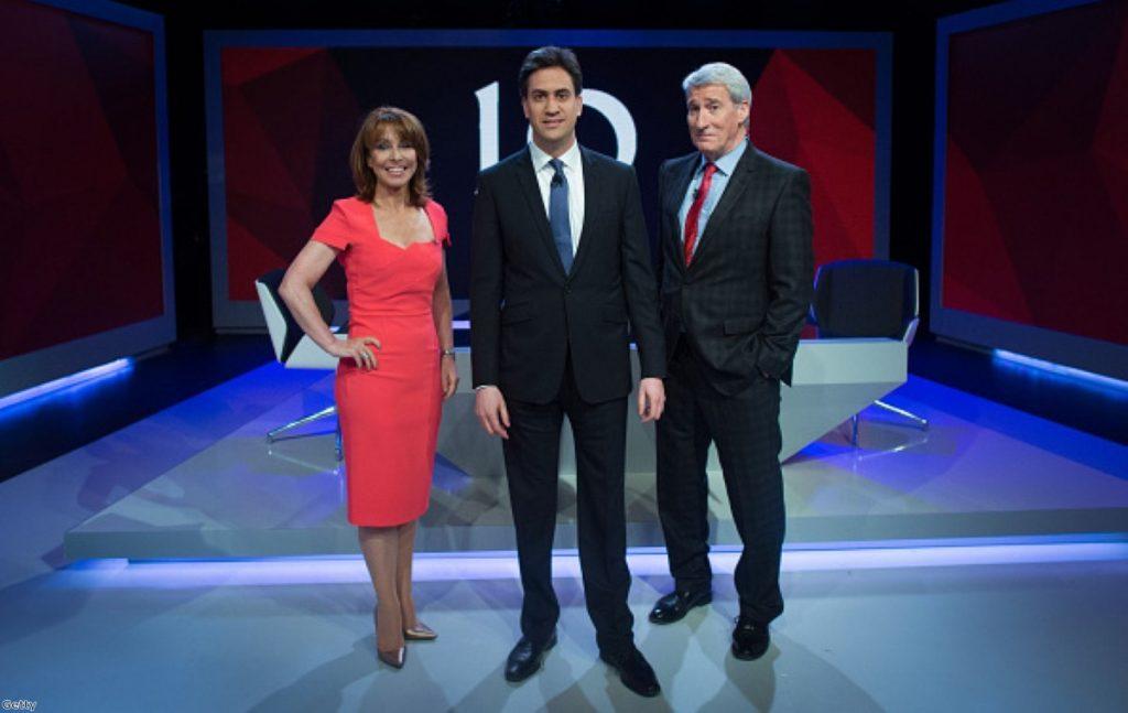 Ed Miliband's personal ratings surge following debate appearance