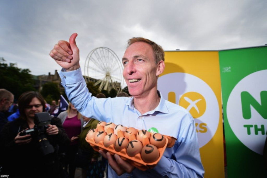 Jim Murphy: Counting his chickens before they've hatched