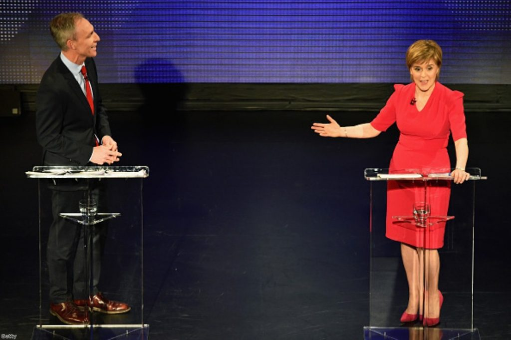 Jim Murphy: 'The largest party gets to form the government'